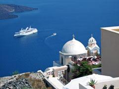 Greek islands cruise ship