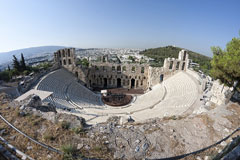 Herodes Atticus Odeon - outdoor amphitheater